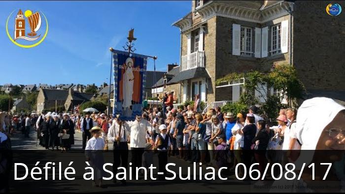 Saint-Suliac Autrefois (2017), le défilé