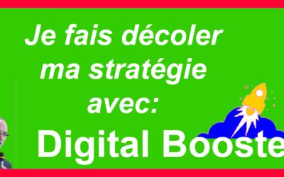 Pré-lancement de «Digital-Booster»